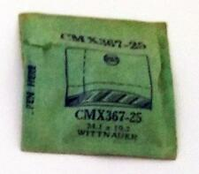 NOS G-S Crystal CMX367-25 for WITTNAUER* 24.1 x 19.2 mm