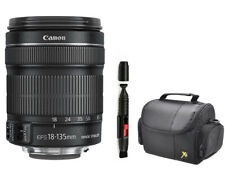 MINT Canon EF-S 18-135mm STM Zoom Lens With Carrying case and Cleaner
