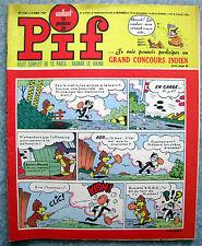 VAILLANT LE Journal De Pif N° 1143 / 9 Avril 1967 Bel etat