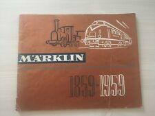 Catalogue Marklin 1959 D59 Complet en FRANCAIS