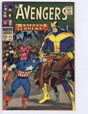 Avengers #33 Marvel 1966