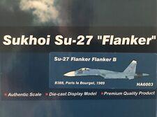 """Hobby Master 1:72 HA6003 Sukhoi Su-27 """"decidido"""" Paris Le Bourget"""