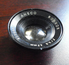 Vintage Ansco Rokkor f 2.8 45mm Camera Lens LOOK