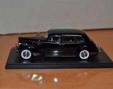 1/43 1941 PACKARD 180 7 PASSENGER LIMOUSINE BLACK HAND MADE - LIMITED EDITION .