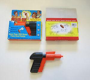 1 NEW POTATO GUN CLASSIC KIDS TOY PISTOL POTATOE SPUD LAUNCHER GUNS GAG GIFT