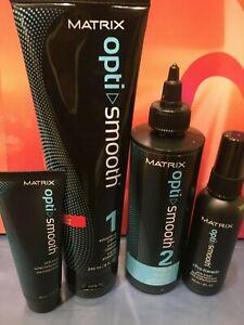 MATRIX Opti Smooth Smoothing System Pro Keratin For Resistant Hair