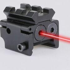Mini Pistol Red Dot Tactical Laser Sight Scope 21mm Rail Weaver Picatinny Mount
