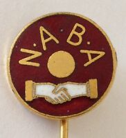 NABA Bowling Club Pin Badge Rare Vintage (L5)