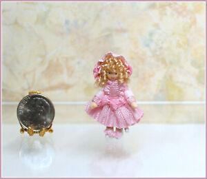 Dollhouse Miniature Ethel Hicks Melody Angel Children Doll