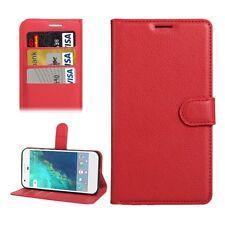 Custodia a libro Tasca Portafogli Design per Google Pixel 5.0 Protettiva Rosso