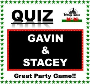 'GAVIN & STACEY' Pub Quiz Trivia Game Table Game Knowledge Testing Fun for Fans