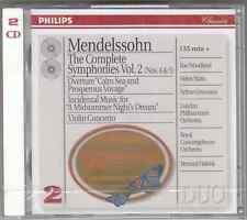 MENDELSSOHN COMPLETE SINFONIE VOL 2 - HAITINK - 2 CD