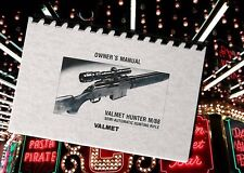 VALMET HUNTER M/88 M 88 Hunting Rifle Owners Instruction Gun Manual SAKO