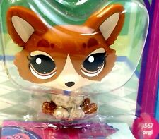 Littlest Pet Shop Bobble in Style Caramel Brown Corgi 3567 New Seal Package LPS