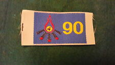 BOY SCOUTS OF ITALY- 90th ANNIVERSARY OF SCOUTING PATCH