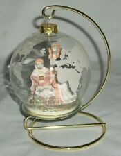 House Of Lloyd Christmas Around The World Ornament With Stand Nativity 1993 Xmas