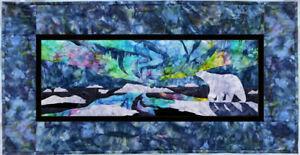 Wildfire Designs Alaska Aurora Nights In the Arctic Applique Quilt Pattern