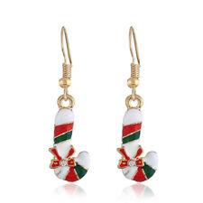 Women Earrings Christmas Crutch Earrings Ladies Temperament Jewelry Accessory