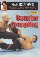 Combat Martial Arts #3 Counter Grappling Dvd Emin Boztepe wing tsun escrima mma