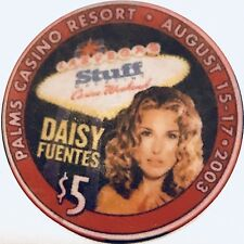 $5 Palms Casino Chip - Las Vegas - Daisy Fuentes - Playboy - Poker - RARE