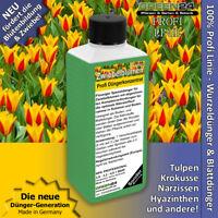 Blumenzwiebel Dünger NPK Flüssigdünger für Tulpen, Narzissen, Krokusse Zwiebeln