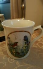 Lenox Nature's Collage Bird Mug Summer Interlude By Catherthine McClung