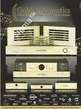 CONRAD-JOHNSON AMPLIFIERS Golden Acoustics Print Ad # 176 9