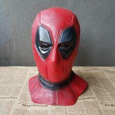 X-Men Deadpool Mask Halloween Hood Cosplay Full Face Latex Mask Cosplay Props