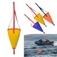 Drift Sock Sea Anchor Trolling Sea Brake Drogue for Fishing Boats Kayak Canoe