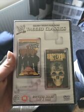 WWE WWF TAGGED CLASSIC DVD SURVIVOR SERIES 1997 1998 WRESTLING 2 DISC New/sealed