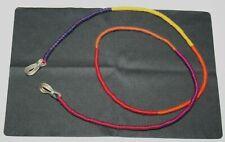 Glasses Cord Ethnic Bright Woven Eyewear Sunglasses Holder Neck Strap String NEW