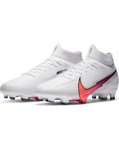 Football shoes Nike FußballSchuhe Mercurial Superfly 7 PRO FG Weiß