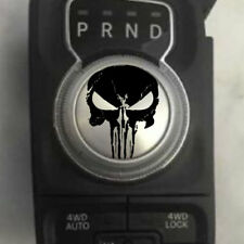 Dodge Ram Punisher Grunge Shift Knob Decal Sticker Graphic Vinyl Rebel Shifter