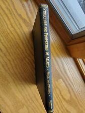 Metallurgy and Metallurgical Engineering Series Brick Phillips 1942 1st Edition
