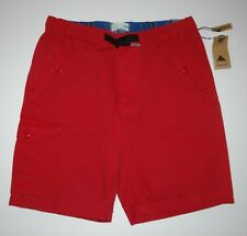 "New Burton Mens Chino 20"" Cotton Casual Walk Shorts Size 32"