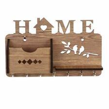 Wall Mounted Wooden Key Holder Key Holder Hooks Wall Décor Keys Holder