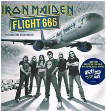 Iron Maiden:  Flight 666: The Original Soundtrack - LP Vinyl 33 Rpm Gatefold
