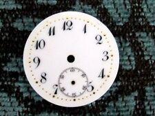 Antique  Pocket Watch Fancy Porcelain Dial 22 mm in Size.