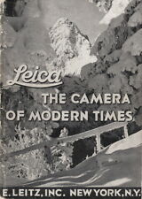 LEICA ~ THE CAMERA OF MODERN TIMES - 1936