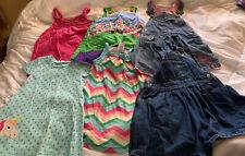 Lot of 6 Girls Clothes Sz 3T Dresses, Denim, Soft, Used