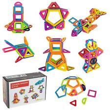 40 Piece Magnetic Tiles magnetic Building Blocks Toys for Kids