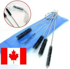 5 Brush 1/4 inch Brush Tobacco Down Pipe Cleaner Cleaning Grinder Tattoo Gun