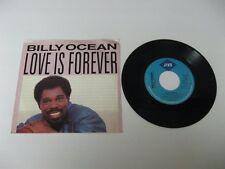 """Billy Ocean love is forever - 45 Record Vinyl Album 7"""""""
