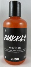 NEW LUSH Cosmetics Bubbly Shower Bath Gel 3.3 oz 100ml SEALED LE Christmas