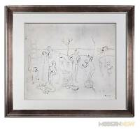 "Pablo PICASSO Lithograph LTD ed. ""Les Saltimbanques."" ~ Sign ++FRAMING"