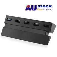 AU 5 Port USB 3.0 USB2.0 High-speed Extension Adapter Multi HUB Splitter for PS4