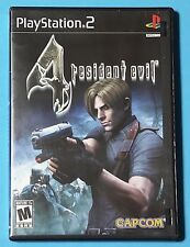 Resident Evil 4 (Sony PlayStation 2, 2005) COMPLETE! Tested, WORKS!