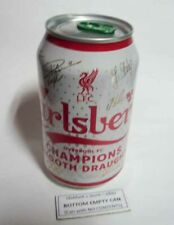 EMPTY - CARSLBERG SMOOTH BEER can MALAYSIA 320ml 2020 LIVERPOOL Champions