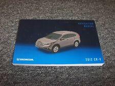 2012 Honda CRV Navigation System Owner Owner's Operator Guide Manual LX EX EX-L