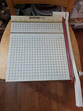 Boston 2612 Paper Cutter 12 Trimmer Heavy Duty Guillotine